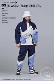 Big Swoosh Fashion Sport Set - blue