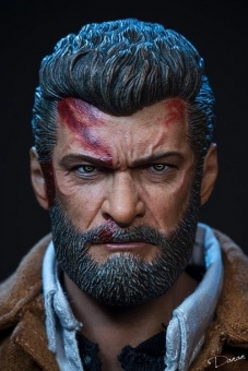 Logan - Old Wolverine - Bloody Head