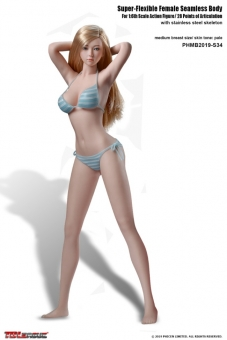 Super Flexibel Seamless Body S34 w/ Head