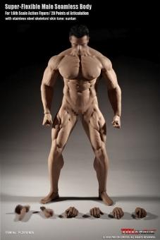 Super Flexibel Male Seamless Body