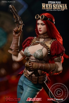 Steam Punk Red Sonja - Classic Version