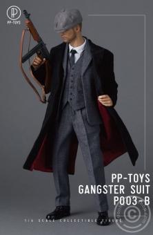 Gangster Suit - Peaky Blinders Set - grey
