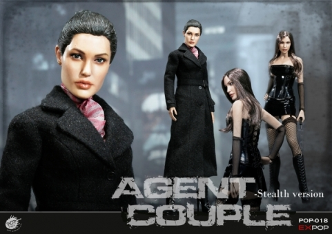 Ms. Smith - SM / Stealth Version - Agent Couple