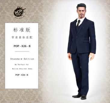 Men's 3-piece Suit Set - blau