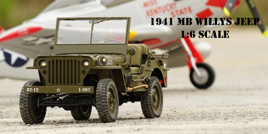 Willys MB Jeep 1941 - 4x4 - R/C