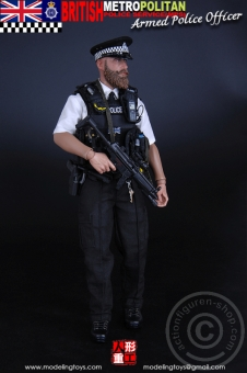 British Metropolitan Armed Police Officer