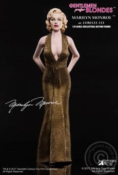 Marilyn Monroe -  in Gold Dress
