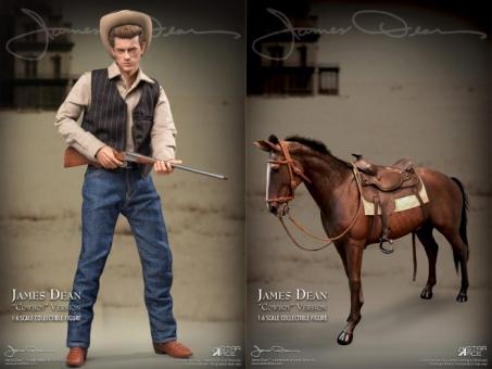 James Dean (Deluxe Cowboy version) w/ Horse
