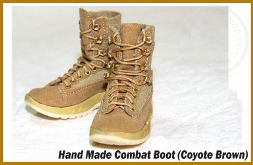 Combat Boots - Coyote Brown