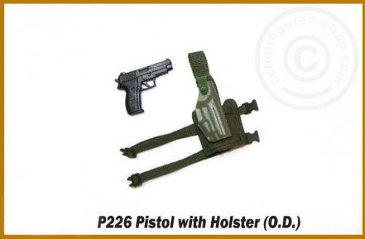 P226 Pistole mit Holster