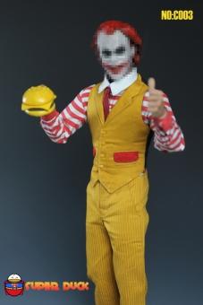 Hamburger Clown Outfit Set
