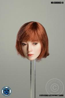 Female Character Kopf w/ movable Eyes