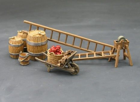The Barrel and Ladder Farmyard Set