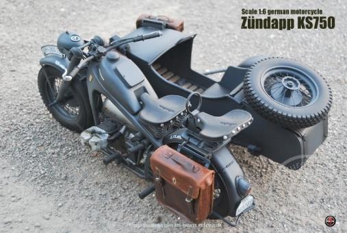 Zündapp KS-750 mit Beiwagen