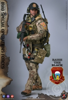 "Iraq Special Operations Forces ""ISOF"" - SAW Gunner"