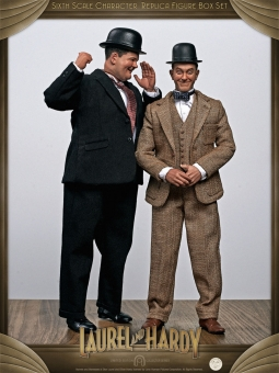 Laurel & Hardy - 2 Full Figure Set
