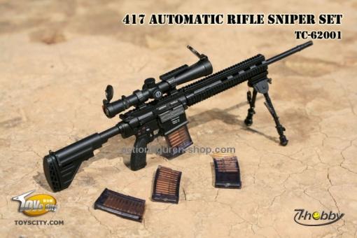 417 HK Automatic Sniper Rifle Set