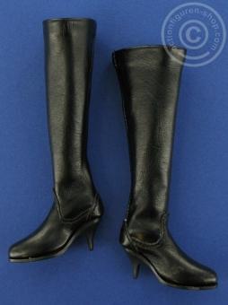 Boots, high - black