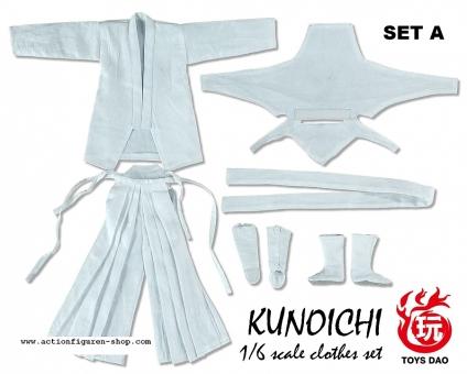 Kunochi Outfit Set - weiß