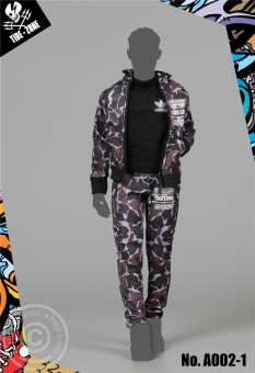 Sports Camouflage Outfit - dunkles camo