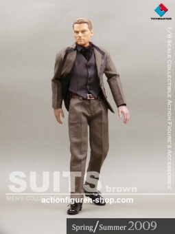 Men Suits Set - Brown