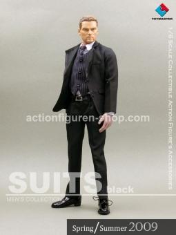 Men Suits Set - Black