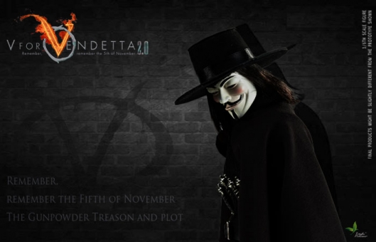 V for Vendetta 2.0 - Guy Fawkes