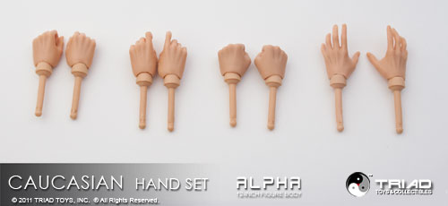 Triad Hand-Set - Caucasian