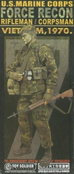 USMC Force Recon-Rifleman/Corpsman VIETNAM 1970