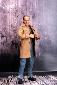 Men in Suit - Mafiosi im Trenchcoat - khaki