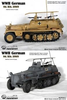 SdKfz 250 Typ 03 - Metall