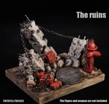The Ruins Hydrant - Diorama