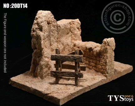 The Ruins of the Wall - Diorama