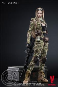 Villa - MC Camouflage Women Soldier