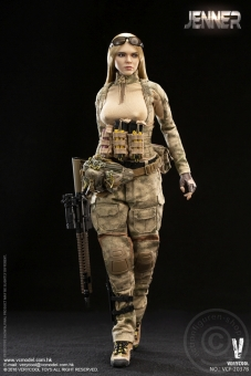 Jennifer (B) A-TACS FG Double Women Soldier