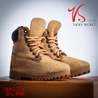 Boots - male - Camel color - matte