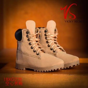 Boots - male - Camel color - polished