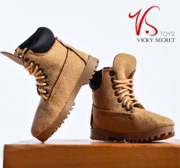 Boots - female - Camel color - matte