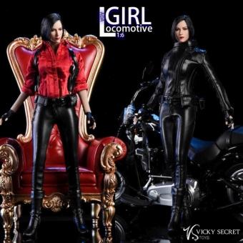 Ada Wong - Locomotive Girl Leather Set