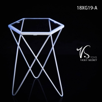Fashion Metal Table - white