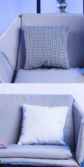 2 Sofa Kissen