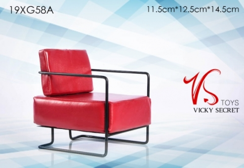 Design Armchair - red
