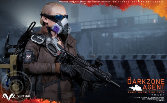 Tracy - The Darkzone Agent