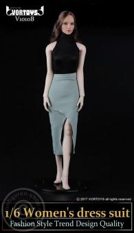 Womens Dress Suit - Schwarz