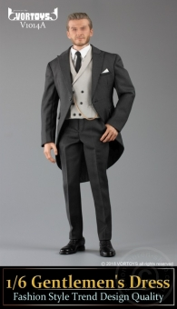 Gentlemen´s Dress Set - dark-grey
