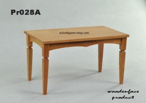 Biedermeier Tisch 2, natur-braun