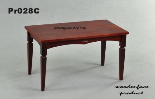 Biedermeier Tisch 2, dunkel-rot-braun