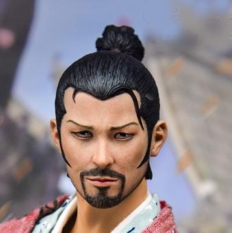 Tian Ba - Lonely Ronin - Kopf - beschädigt