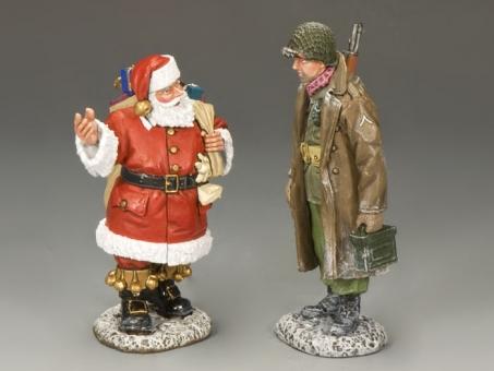 Anything for me, Santa?