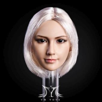 Kopf - silber/blonde Haare